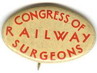 Railway Surgeons Conference Pin