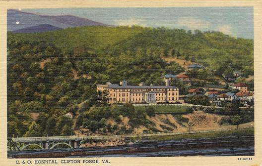 Va Topeka Ks >> RailwaySurgery.org - Image Gallery - Hospital Postcards