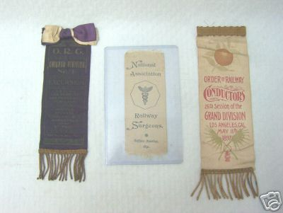 Surgeon convention ribbons
