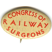 Congress of Railway Surgeons Pin
