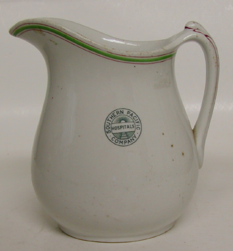Southern Pacific hospital pitcher