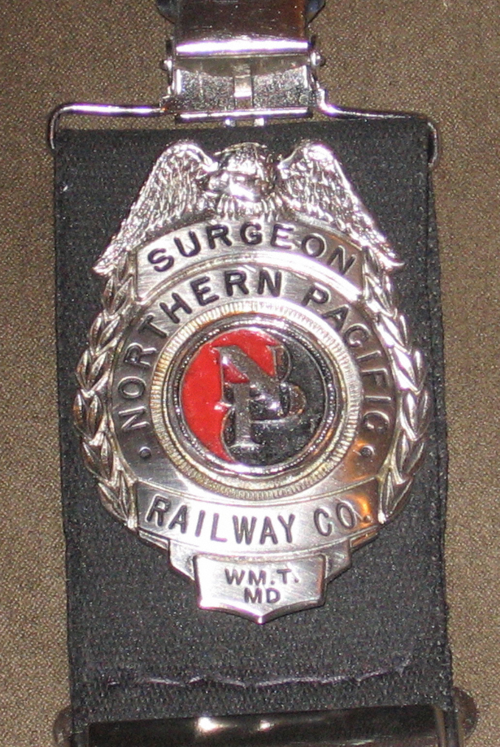 Railway Surgeon's Badge