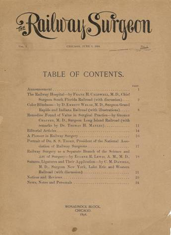 Cover of The Railway Surgeon
